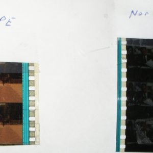 Images de film scope (16/9 sur votre TV et 4,70 sur 9,40 m sur notre écran)  Image de film normal (4/3 sur votre TV, 4,7m sur 4,7 m sur notre écran)